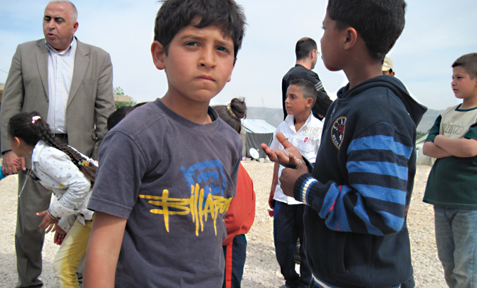 A letter from… Za'atari refugee camp, Jordan