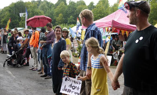 Christian activist: Stand against fracking