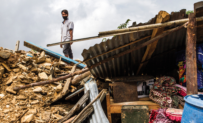 A letter from… earthquake zone, Nepal