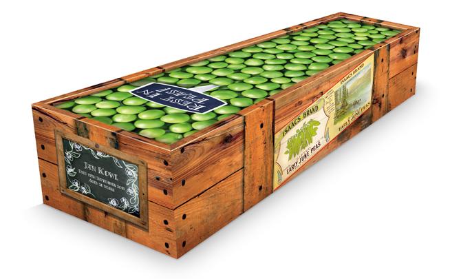Jumble sales of the apocalypse: Customised coffins