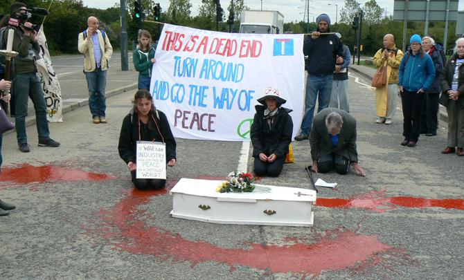 Christian Activist: Peace at the arms fair