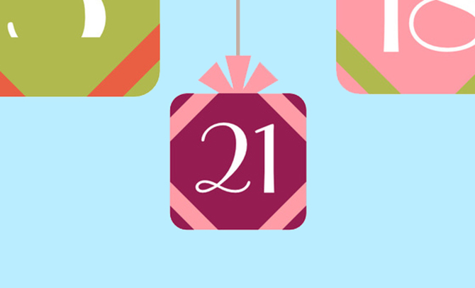 Commitment-Phobe: Advent challenge, day 16, 17, 18, 19, 20 and 21