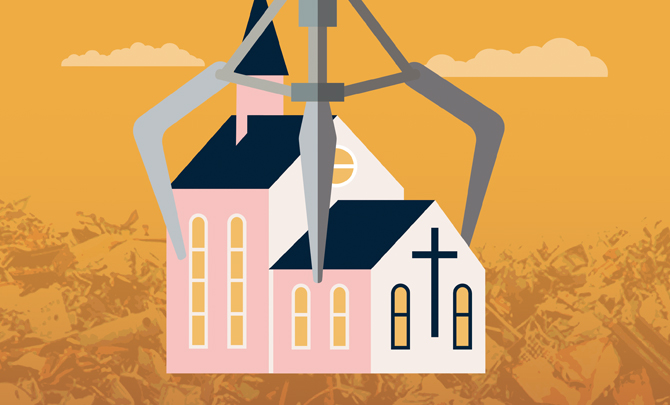 A good question: Scrap the Church?