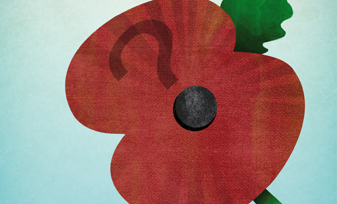 A good question: Do you wear a poppy?