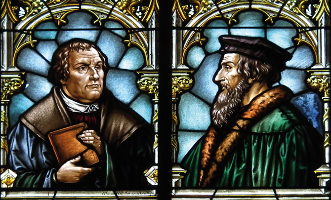 Beyond Luther: The Reformed story
