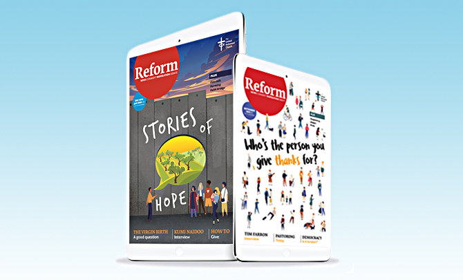 Stuck indoors? Read Reform for free